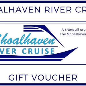An example of a Shoalhaven River Cruise Gift Voucher