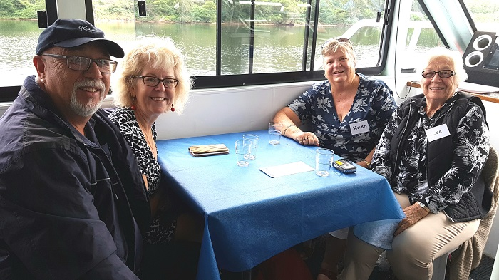 A beautiful day to enjoy a Shoalhaven River Cruise as these passengers found out.