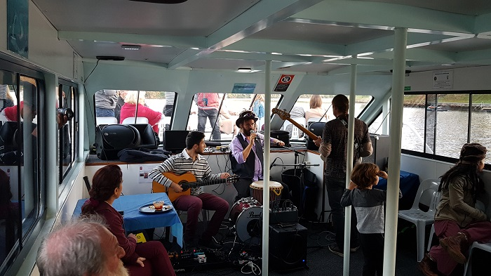 The Groove Cruise was so much fun with music, singing and dancing. Enjoyed by all passengers and hopefully the first of many Music Cruises onboard with Shoalhaven River Cruise