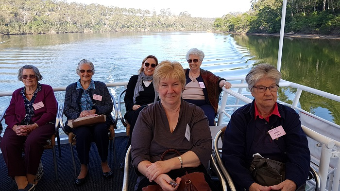 Mid South Coast Legacy paid us a visit on a gorgeous day for a Shoalhaven River Cruise