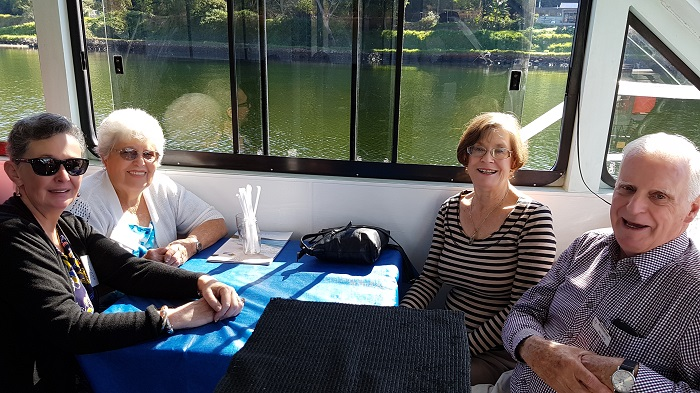 Sunshine and Smiles galore for our passengers during a Shoalhaven River Cruise