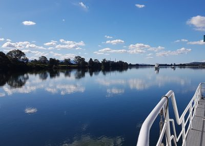 Relaxing afternoon on a Shoalhaven River Cruise Sunday Arvo Cruise