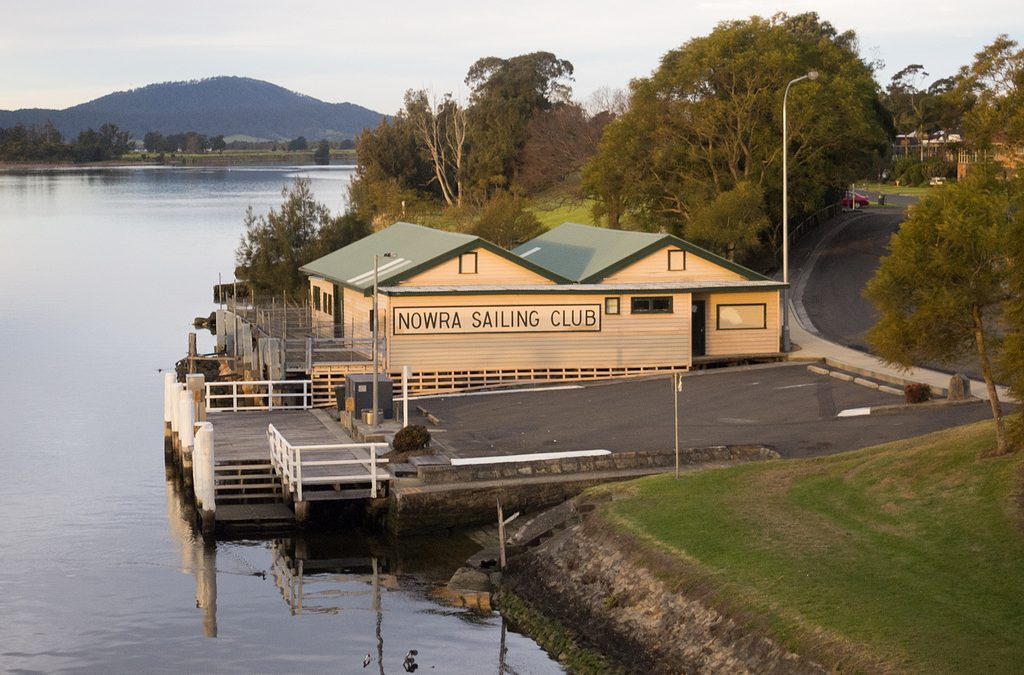 The old Nowra Sailing Club